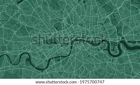 green london city area vector
