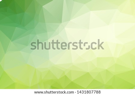Green Low poly crystal background. Polygon design pattern. environment green Low poly vector illustration, low polygon background.