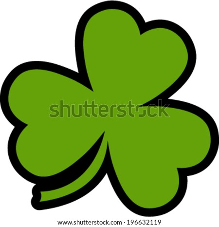 Three Leaf Clover Vector At Vectorified Com Collection Of Three
