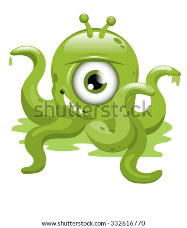 green malevolent alien
