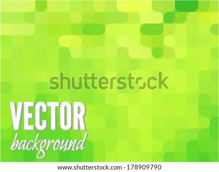 stock-vector-green-modern-geometrical-abstract-background