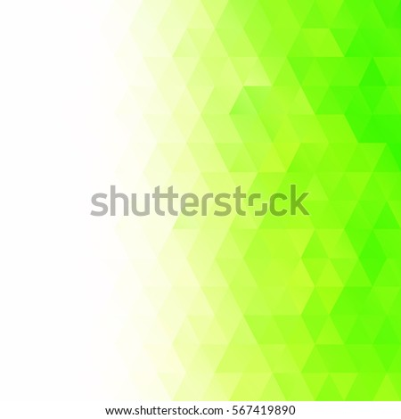 Green Mosaic Background, Creative Design Templates