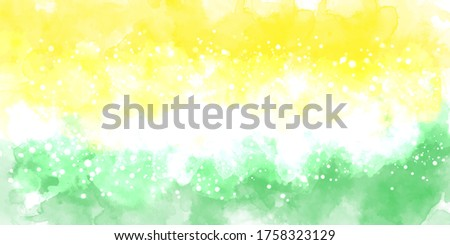 Green multicolor background watercolor. Green multicolor splash watercolor. Water color backdrop. Green multicolor background watercolor. Abstract multicolor splash watercolor on white background.