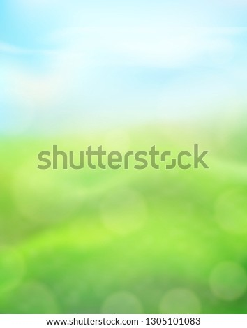 green nature vertical