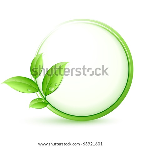 green plant concept - stock vector