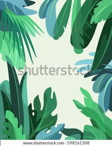 green rainforest jungle