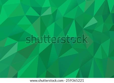 green random triangles texture