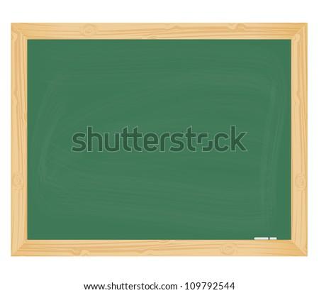Green school board. Eps10 vector.
