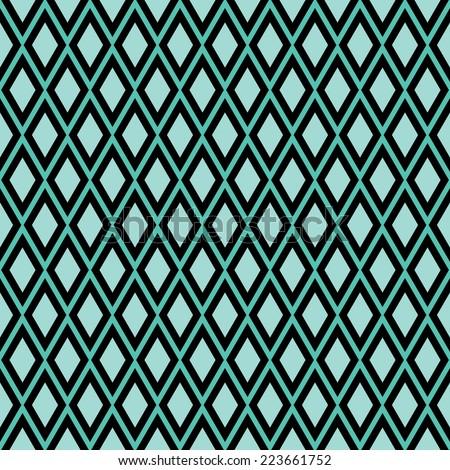 green seamless diamond pattern