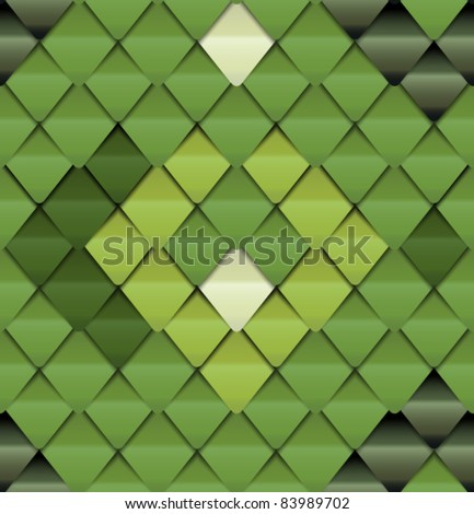 Green seamless pattern look like lizard skin