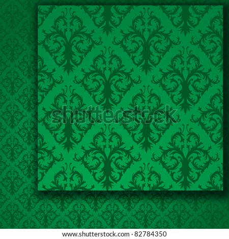 Green  Seamless Pattern (wallpaper)