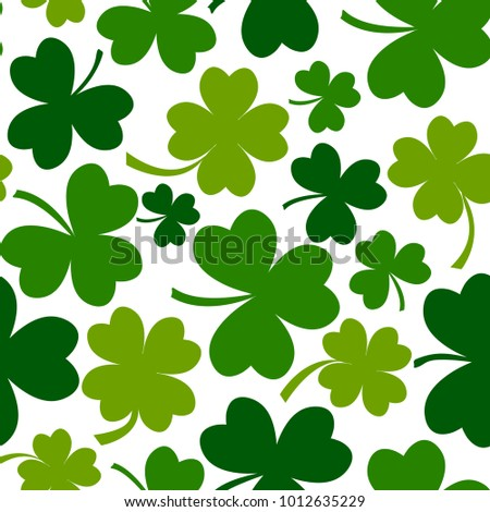 green seamless pattern with
