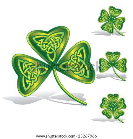 -vector-celtic-knot.html: Size:450x470 - 112k: 4 Leaf Clover Tattoos