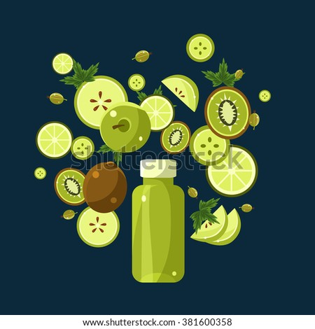 green smoothie recipe with