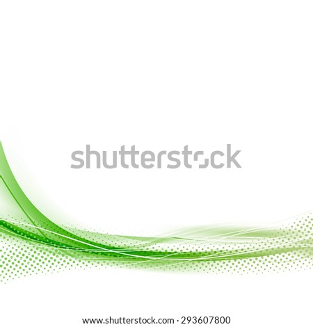 green speed abstract dotted