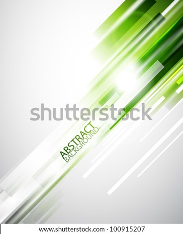 Green straight lines abstract background stock photo