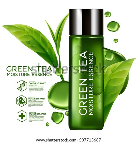 green tea moisture essence skin