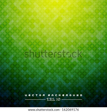Green Texture Background . Vector Illustration for you design / EPS 10