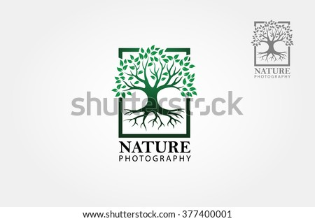 green tree photography logo