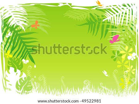 tropical wallpaper. tropical background rain