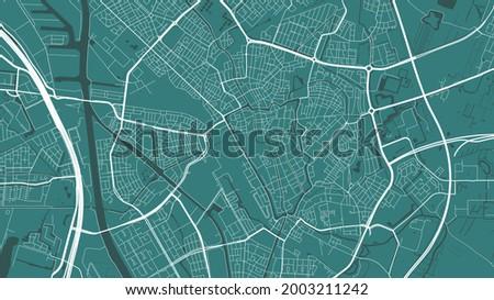 green utrecht city area vector