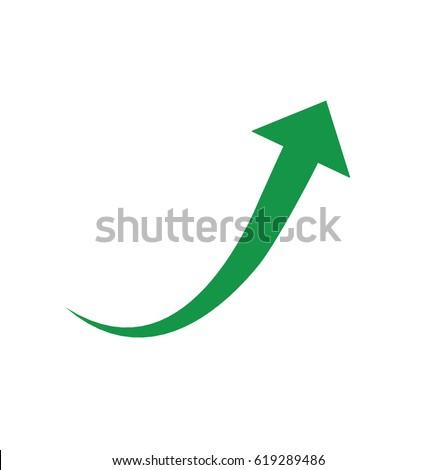Green vector arrow