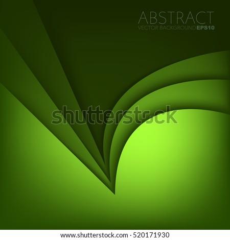 green vector background overlap