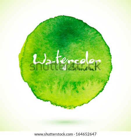 green vector isolated