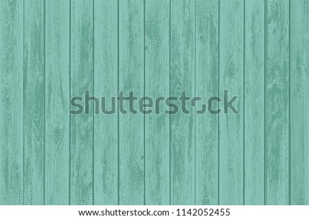 green wooden table panels old