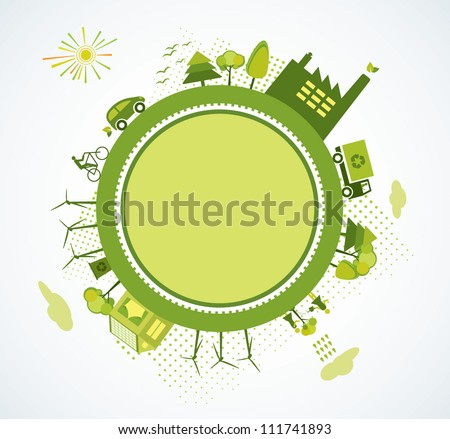 Green world, green planet, go green