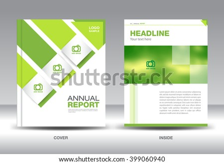 Green company profile template vector download free vector art greenbusiness brochure flyer layout in a4 size annual report catalog poster magazine spiritdancerdesigns Images