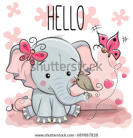 stock-vector-greeting-card-cute-cartoon-elephant-with-bird