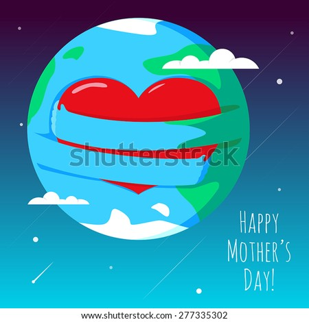 greeting card for happy mother