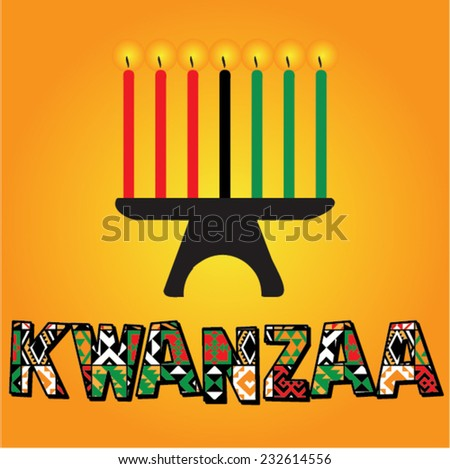 Free kwanzaa candle vector download free vector art stock greeting card for kwanzaa with seven kwanzaa candles in vector vector illustration happy kwanzaa m4hsunfo