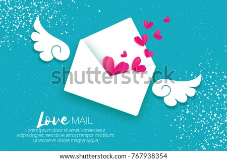 greeting card for valentine's