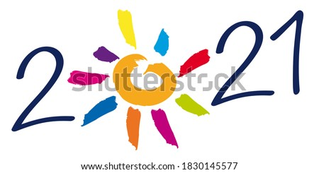 greeting card on the concept of