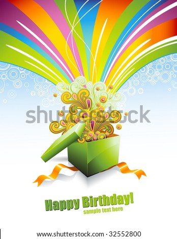greeting card or background