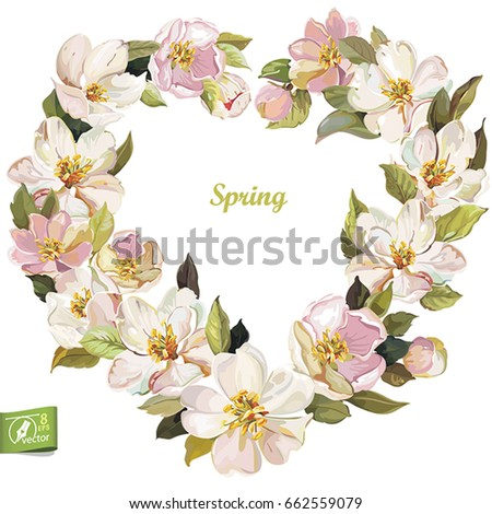 greeting card with jasmine