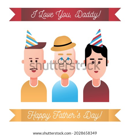 greeting card with lettering