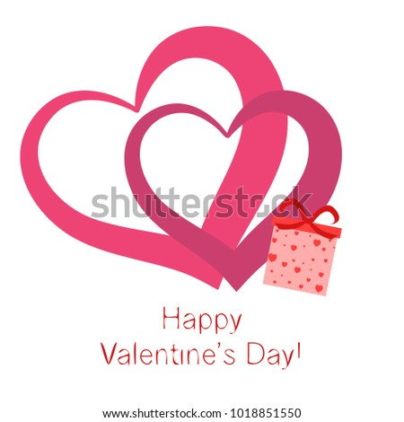 Heart Vector for St. Valentine\'s Day