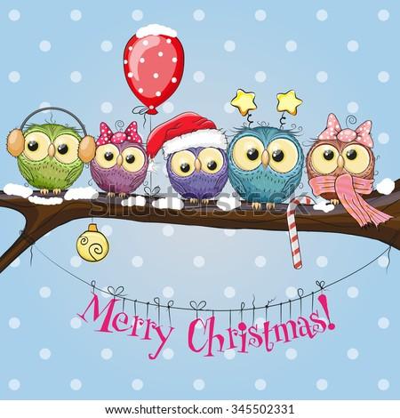 greeting christmas card five