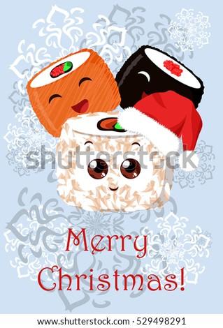 greeting christmas illustration