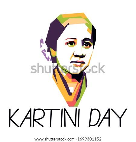 greeting for kartini day  woman