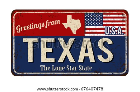 greetings from texas vintage...