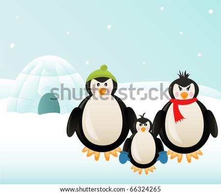 Greetings from the North Pole - stock vector