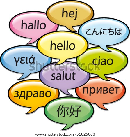 Greetings in ten languages