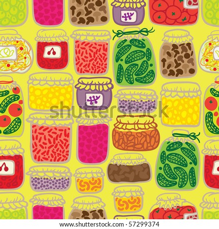 gren seamless pattern with banks