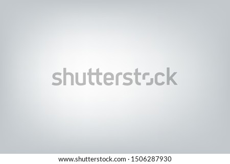 Grey and white Gradient abstract studio background