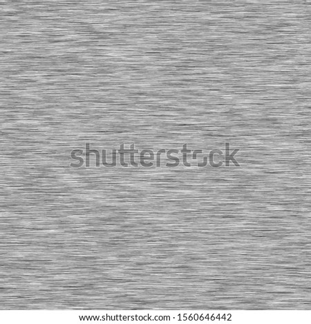 Grey Background Triblend with Grey Marl Heather Texture. Faux Cotton Fabric with Vertical T Shirt Style. Vector Pattern in Light Gray Melange Space Dye Textile Effect. Vector EPS 10 Tile Repeat