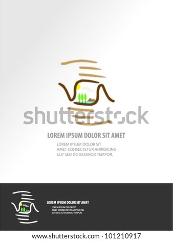 grey background with isolated hands. vector